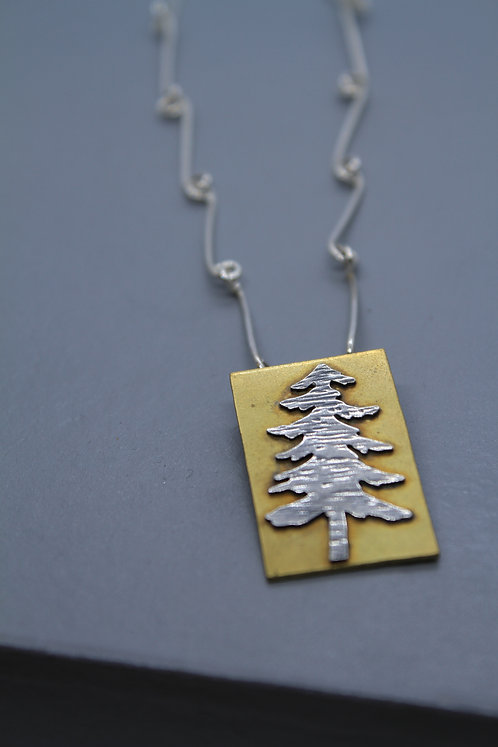 Brass and Silver Tree