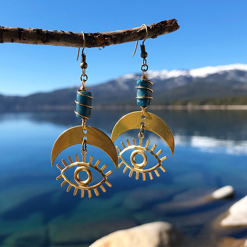 Funky ojo earrings