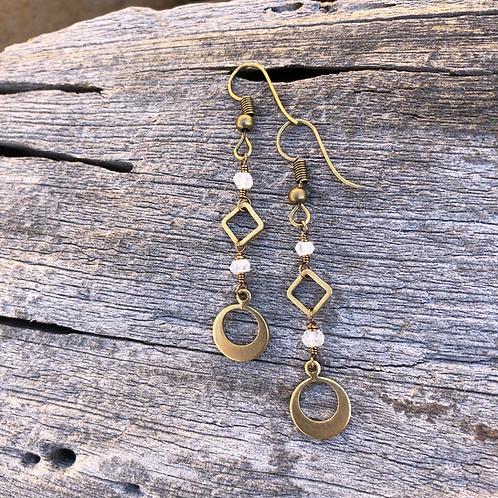 Retro-chic earrings
