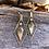 Thumbnail: Retro-modern earrings