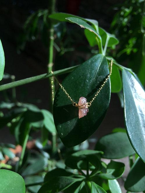 Crystal Wrap Necklace