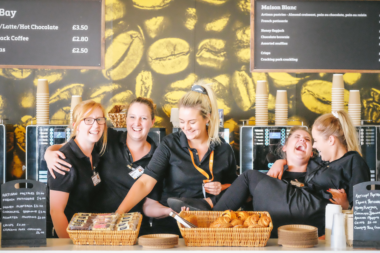 Farnborough Cafe Staff