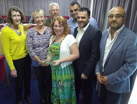 Evesham organisations honoured by Wychavon's chairman