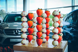 Mercedes Benz World Strawberries