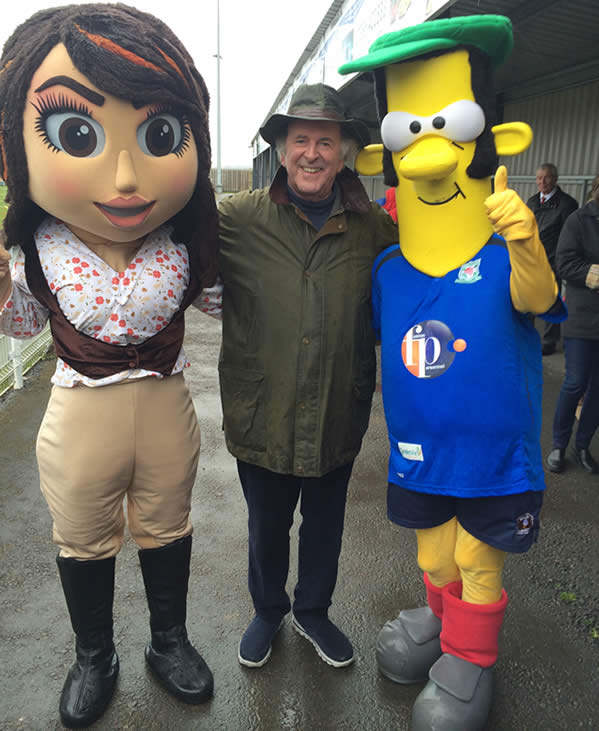 The late Terry Wogan supporting GUFC