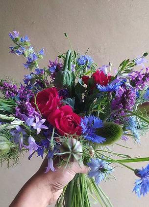 Bouquet de fleurs locales et de saison - Petit format