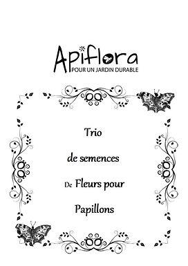 Pack Trio de semences de fleurs pour Papillons