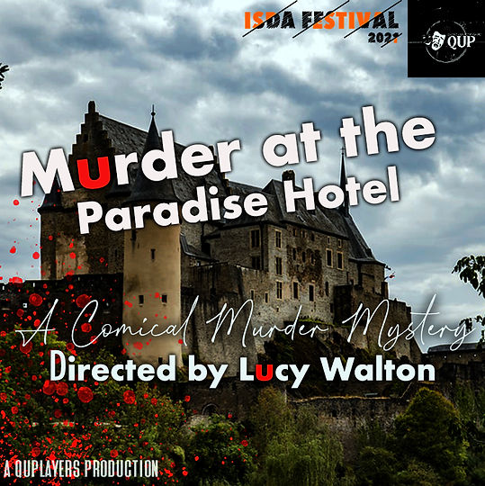 Murder at the Paradise Hotel ISDA poster