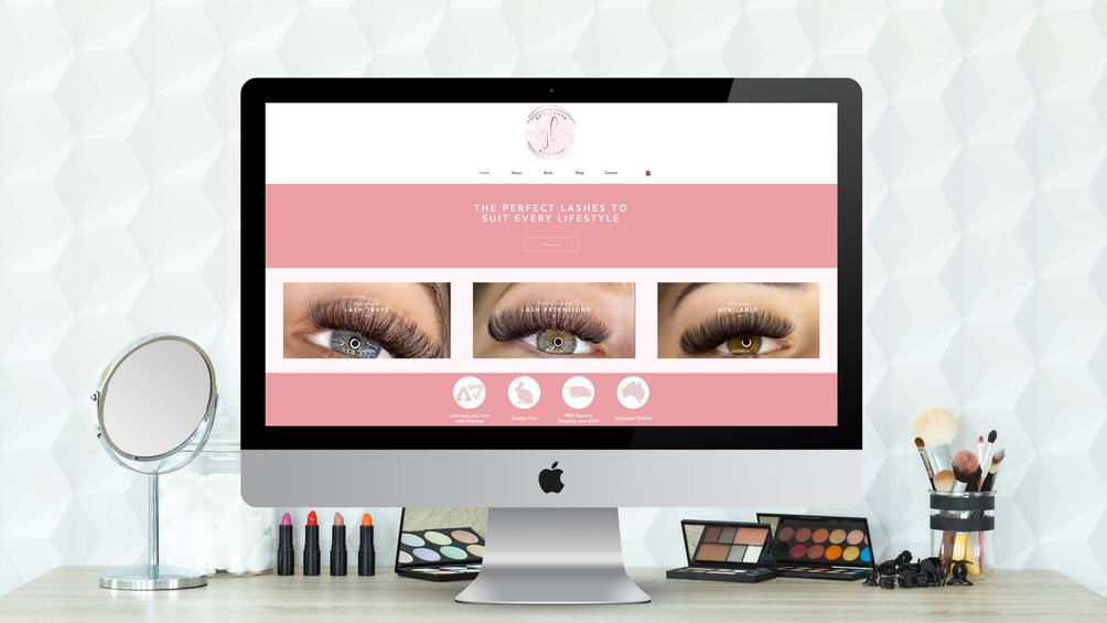Website Design - Shop and Booking Integration