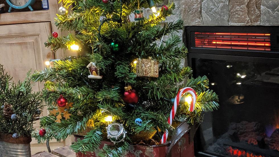 Christmas tree Arrangement