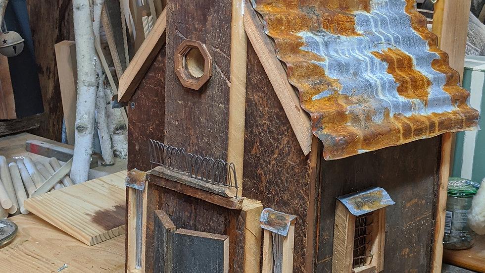 Rusted Barn Birdhouse