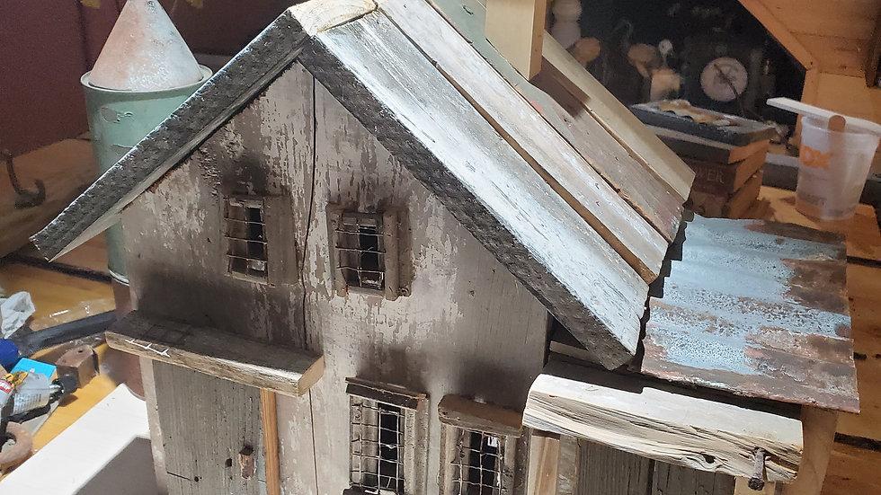 Barn Silo Birdhouse