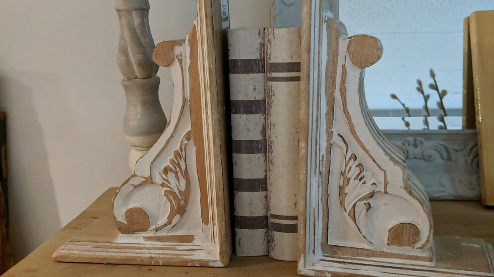 Wooden Corbels/Bookends