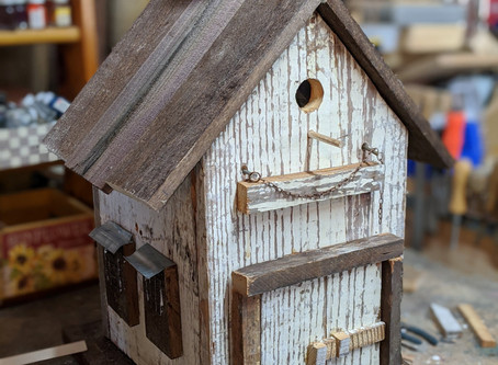 Check out new birdhouse collection