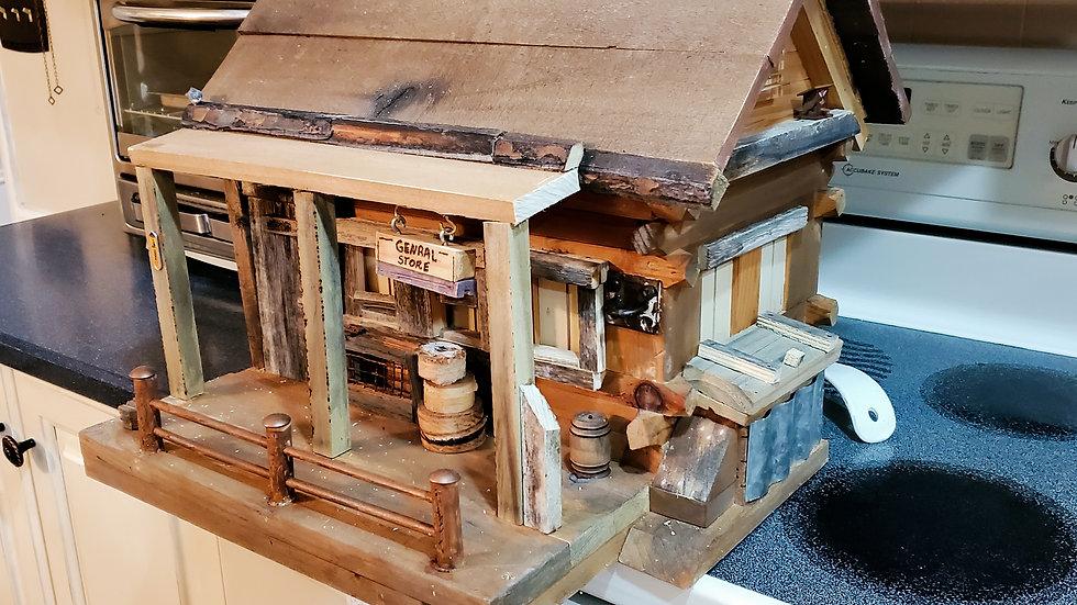 Barn General Store Birdhouse