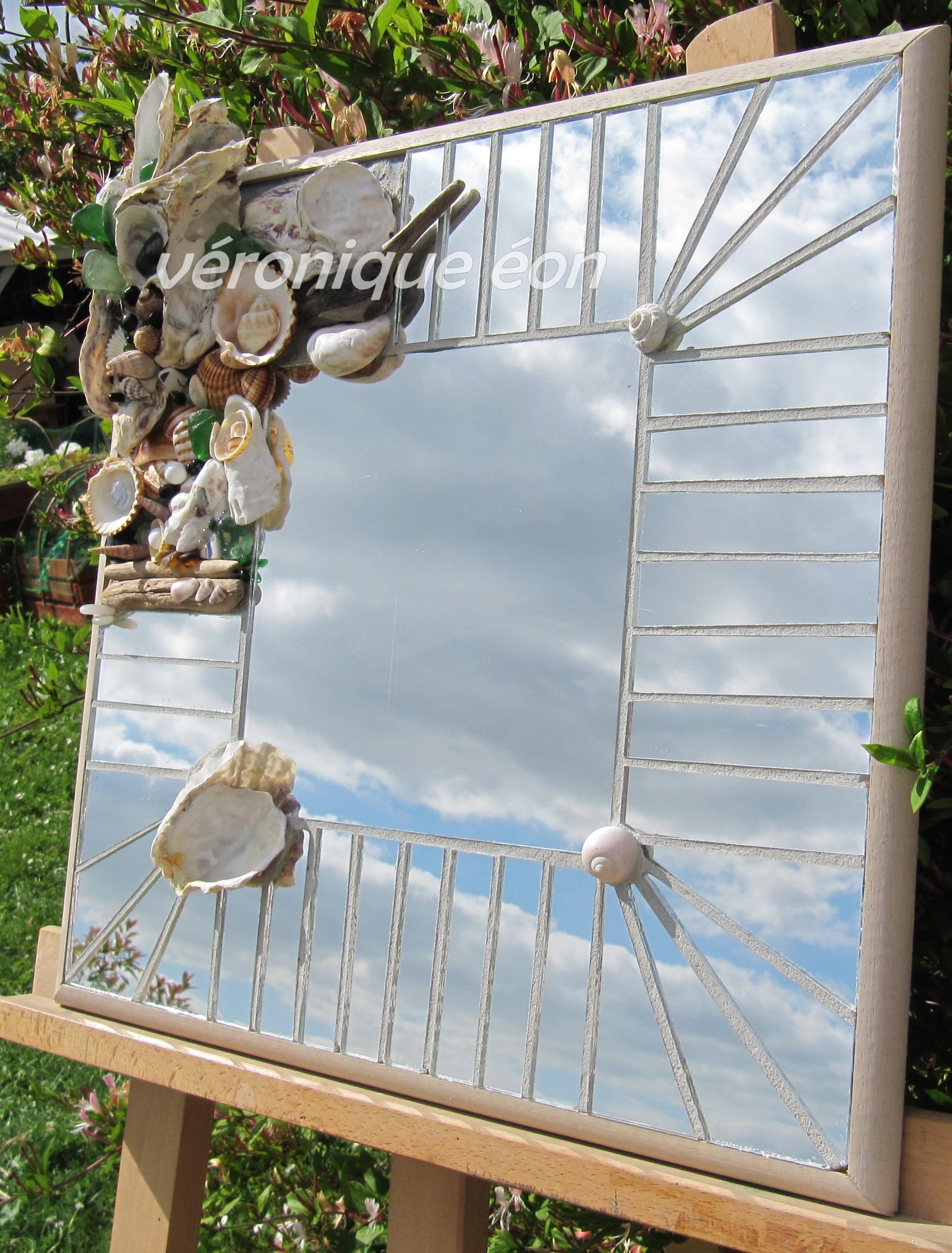 Miroir Souvenir de Plage