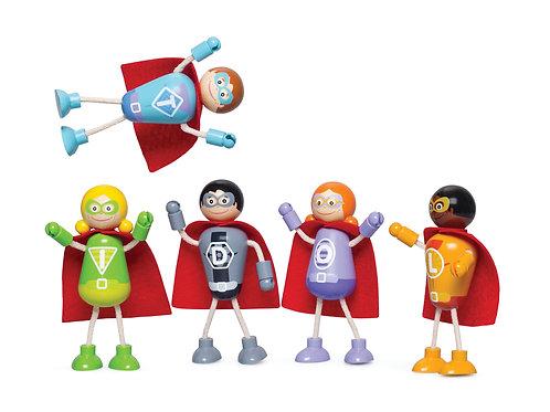 Superhero Figure Pack