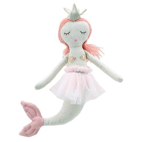 Mermaid in Pink Dress