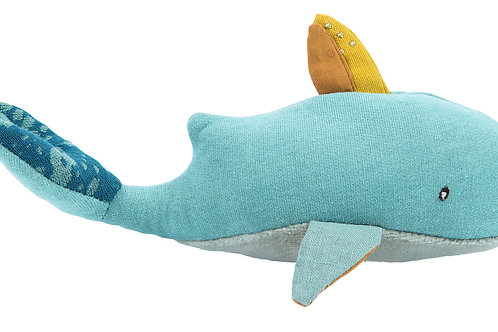 Josephine the Whale Rattle