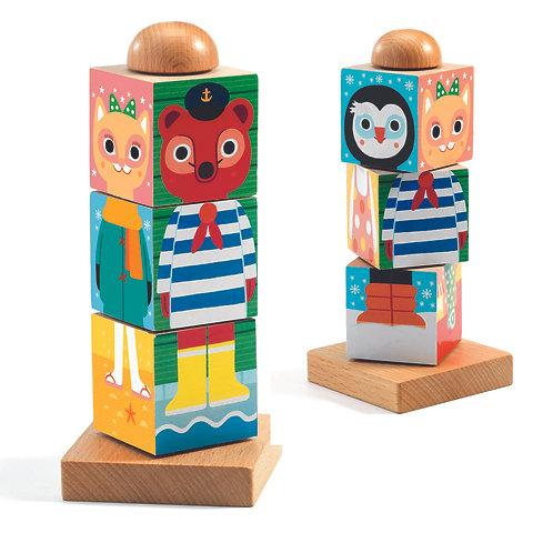 Twistanimo Wooden Block Puzzle