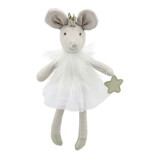 Mouse in White Dress