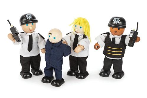 Police Officers and Prisoner