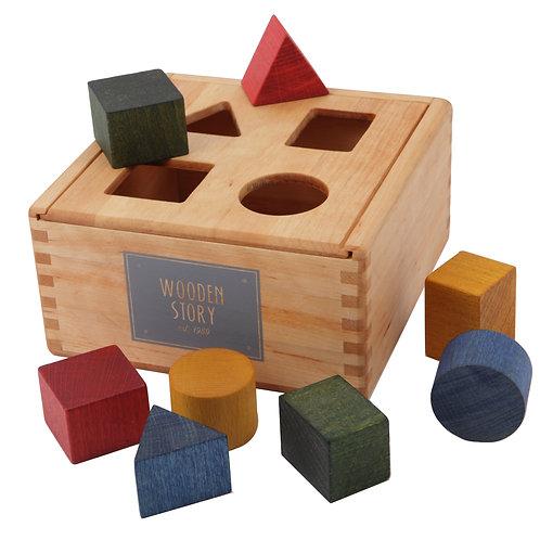 Rainbow Shape Sorter Box