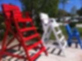 lifeguard chairs