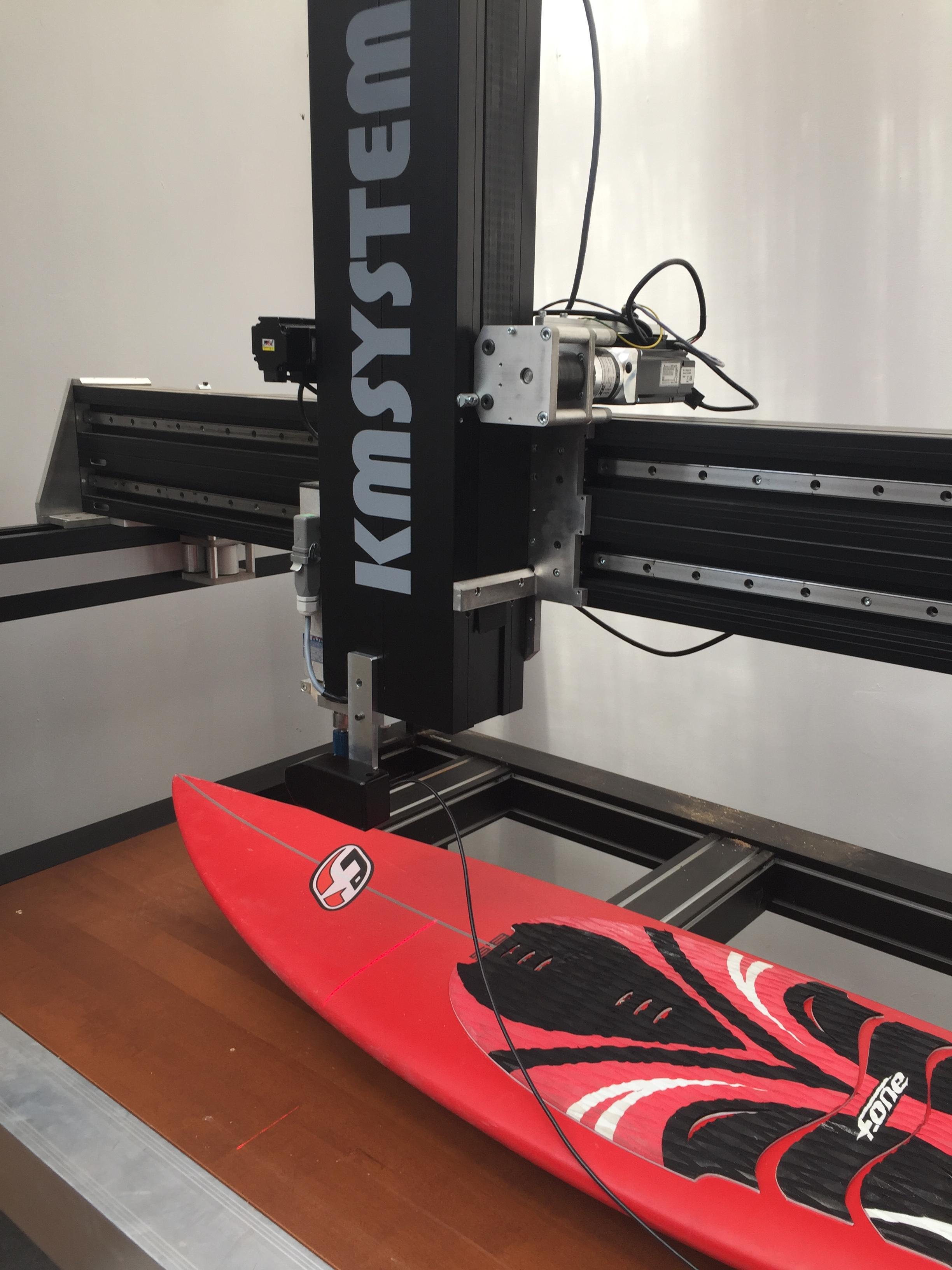 Scanner 3D  planche de surf