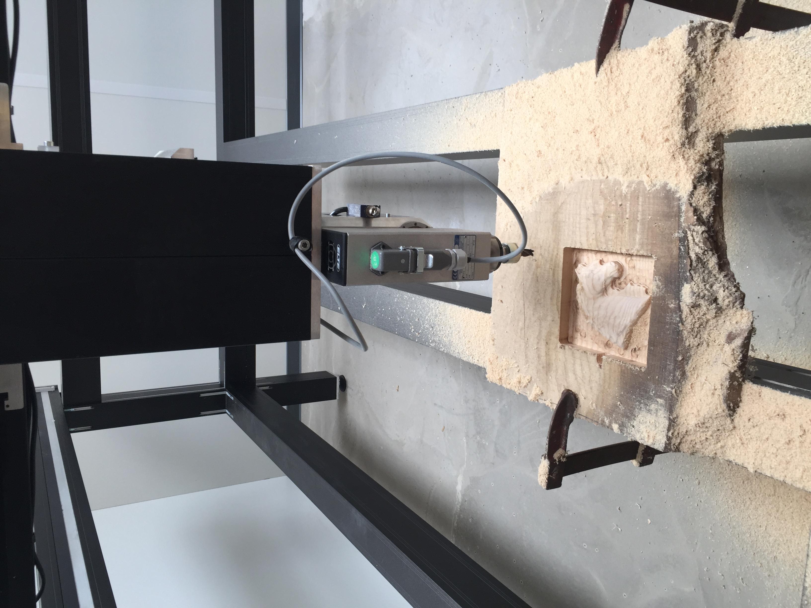 Machine 4 axes usinage de bois