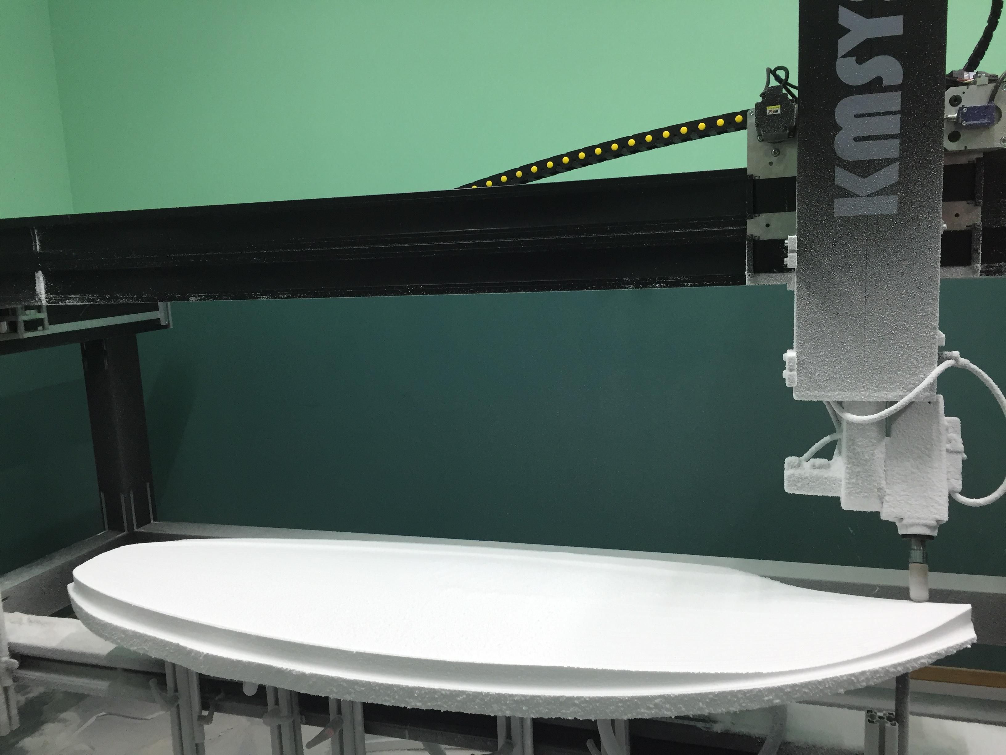 Machine surfboard KMSYSTEM