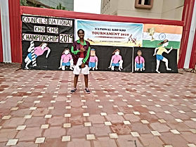 majhi - our students qualifies for sgfi.