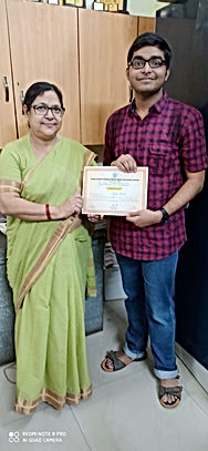 Supriya Mandol, an ex-student of our sch