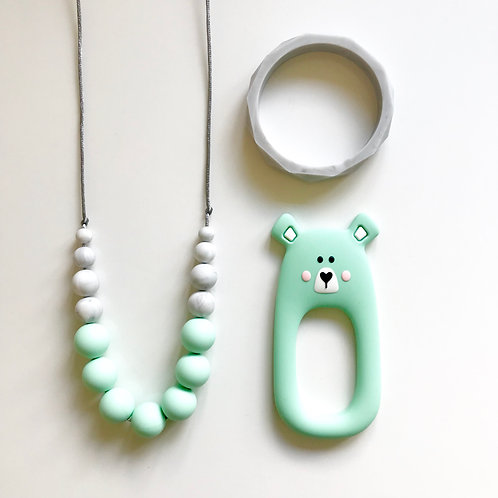Betty Gift Set including Bear or Fox Teether