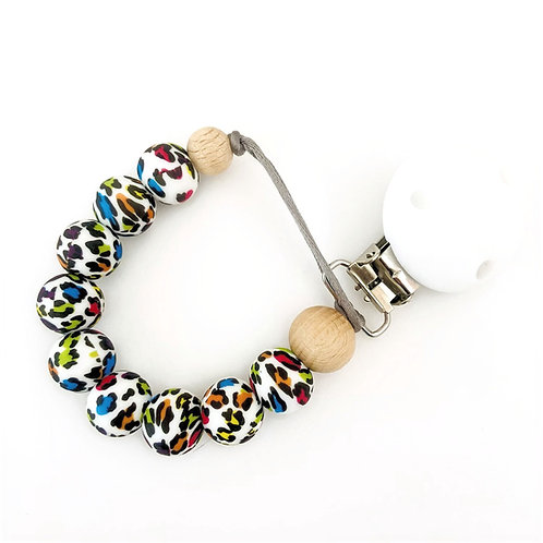 Dummy Clip - Colourful Leopard