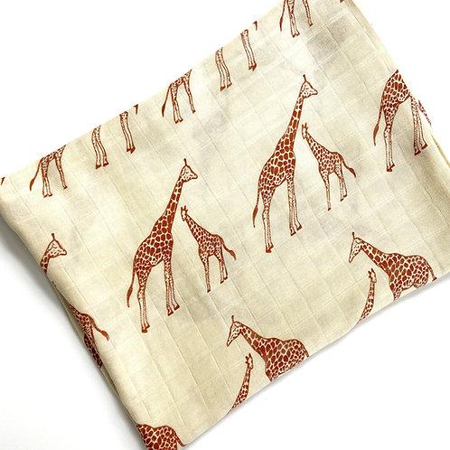 Giraffe Print Muslin