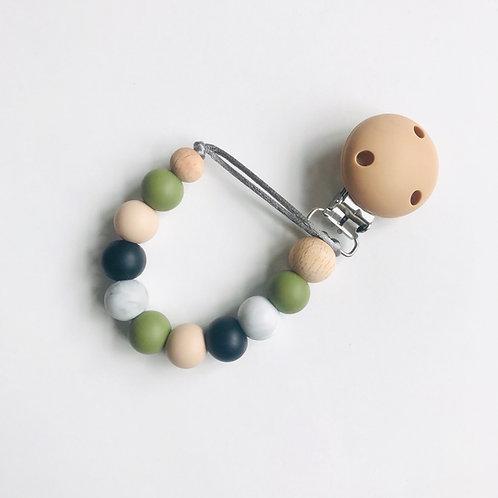 Dummy Clip - Natural, Olive, Marble & Black