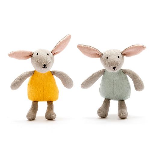 Organic Cotton Bunny Toy