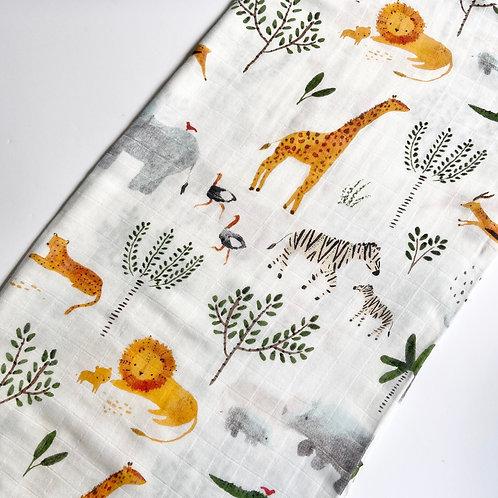 Safari Print Muslin