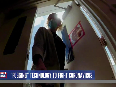 Fogging Technology Could Help Battle Coronavirus (NBC News)