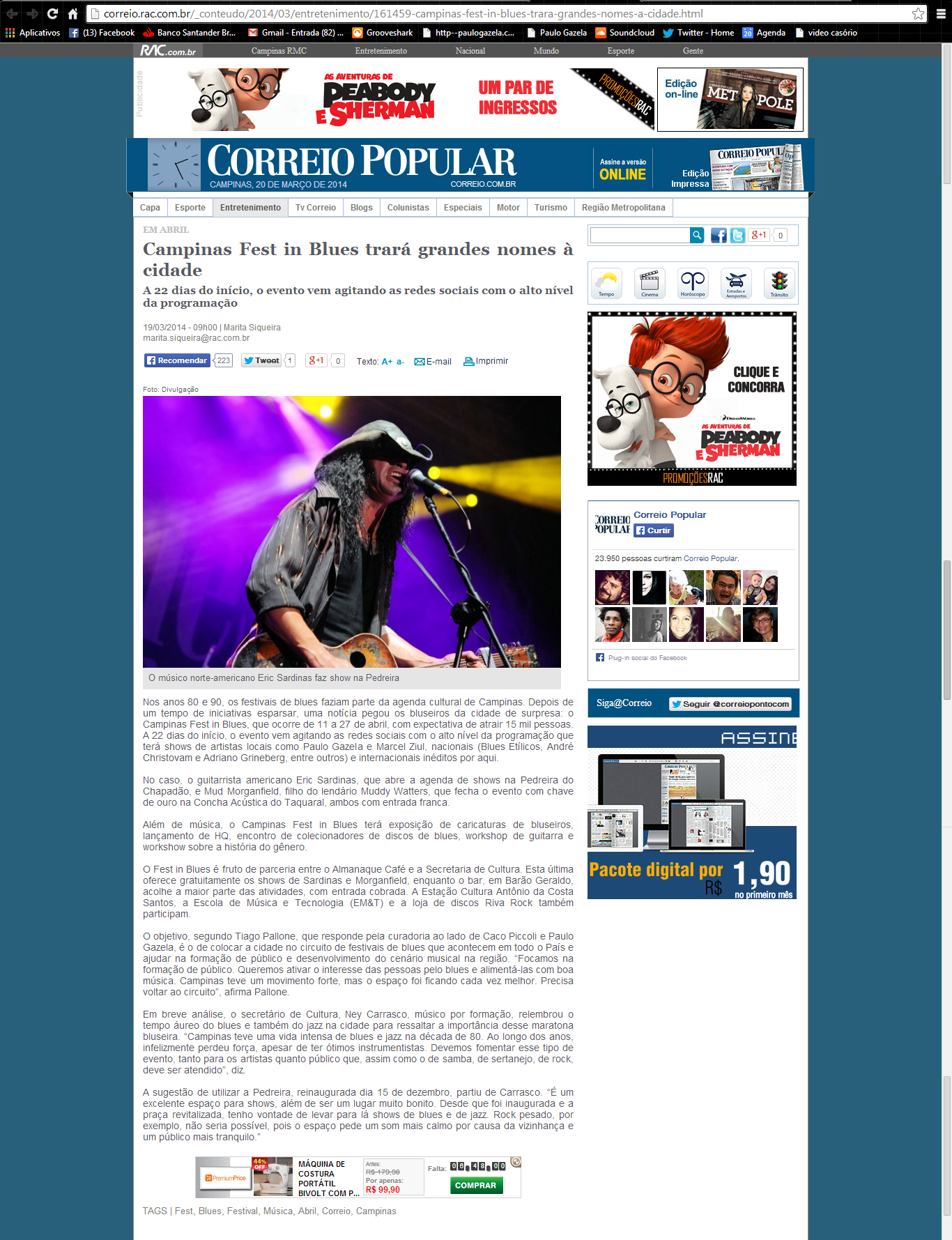 2014_19_deMarço_ Site do Correio Popular_ 1festInBlues.jpg