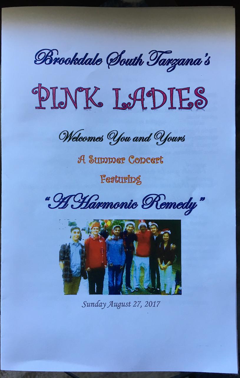 """Pink Ladies Fundraiser"""