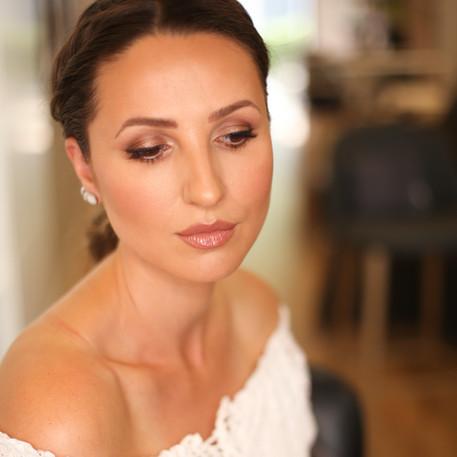Bridal makeup look