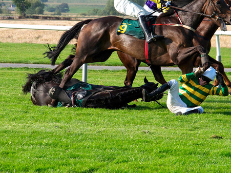 Which racecourses provide the sternest test of jumping ability?