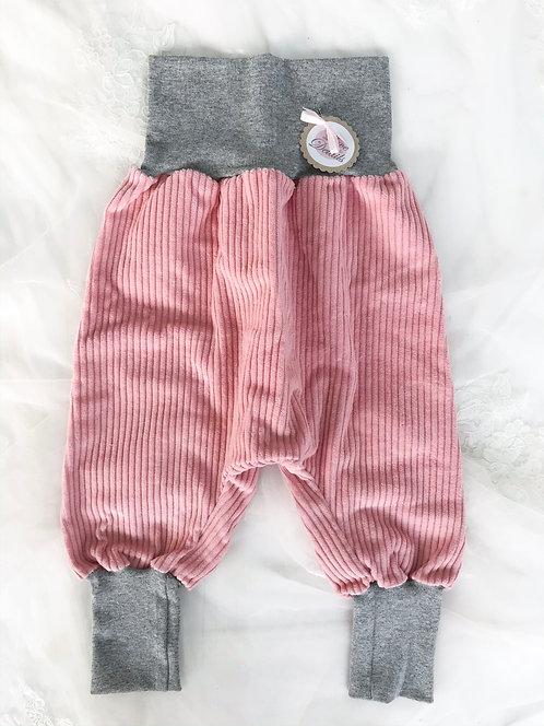 Pant Size 92/98 (2-4 yr) Gray Red Stripe
