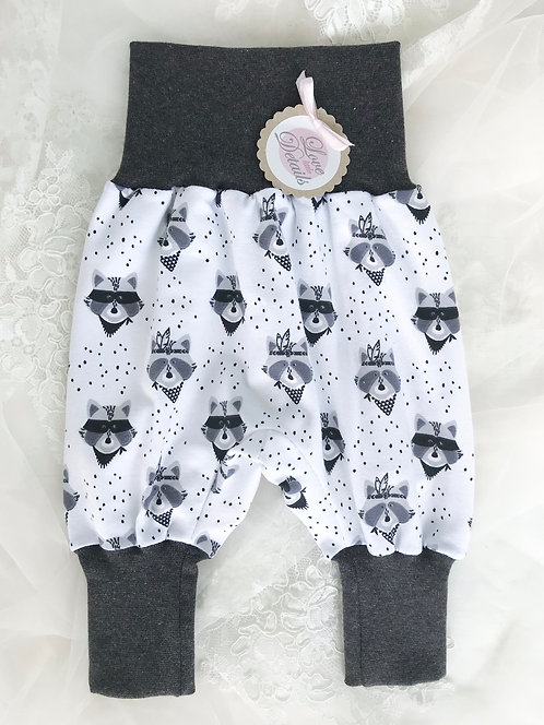 Pant Size 50 (Newborn) Raccoon Gray