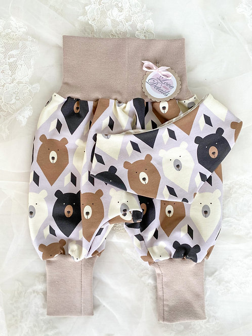 Newborn Set 56/62 (2-6 m) Bears