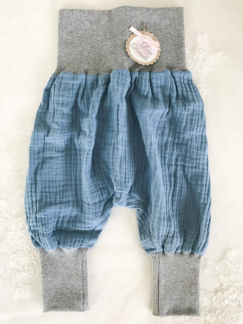 Pant Size 68/74 (6-12 m) Blue Gray