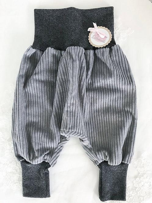 Pant Size 68/74 (6-12 m) Gray Stripes