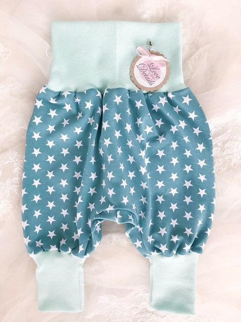 Pant Size 56/62 (2-6 m) Mint Stars
